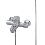 198 – Susan Plus Single Lever Bath Mixer Wall Type With Noble Hand Shower