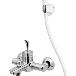 181 – Cello Single Lever Bath Mixer Wall Type With Common Hand Shower