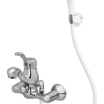 166 – Bello Single Lever Bath Mixer Wall Type With Common Hand Shower