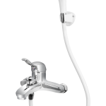 154 – Solo Single Lever Bath Mixer Wall Type With Common Hand Shower
