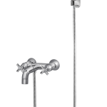 278 – Vista (Quarter Round) Bath Mixer Wall Type With Noble Hand Shower
