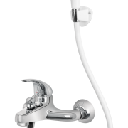 Lever Profit Plus Single Lever Bath Mixer wall Type with Common Hand Shower