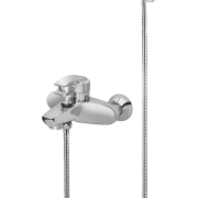237 – 237C – Pelican Single Lever Bath Mixer Wall Type With Noble Hand Shower