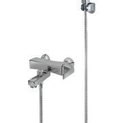 235 – Siesta Single Lever Bath Mixer Wall Type With Bold Hand Shower