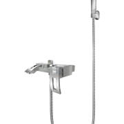 428 – Emerald Single Lever Bath Mixer Wall Type With Sapphire Hand Shower