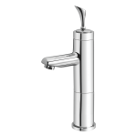 180B – Cello Single Lever Basin Mixer With 6″ Height
