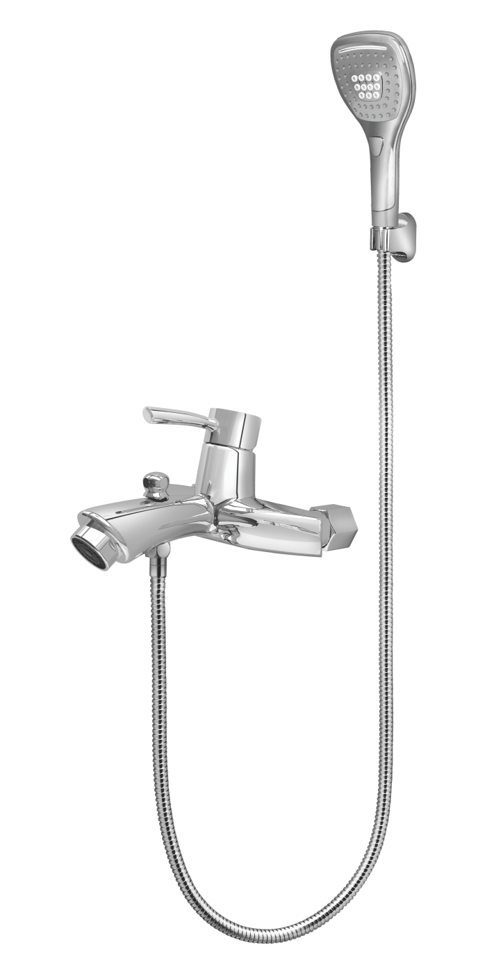 426 Topaz Single Lever Bath Mixer Wall Type With