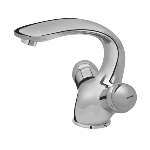125 – Jazz (Quarter Round) Single Hole Basin Mixer (With disc Hand Work)