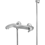 430 – Oasis Single Lever Bath Mixer Wall Type With Sapphire Hand Shower