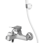Apollo Single Lever Bath Mixer Wall Type With Common Hand Shower