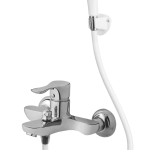 Ether Single Lever Bath Mixer Wall Type With Common Hand Shower