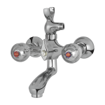 027B – Common Bath Mixer Wall Type With Noble Hand Shower