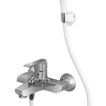 Aragon Single Lever Bath Mixer Wall Type With Common Hand Shower